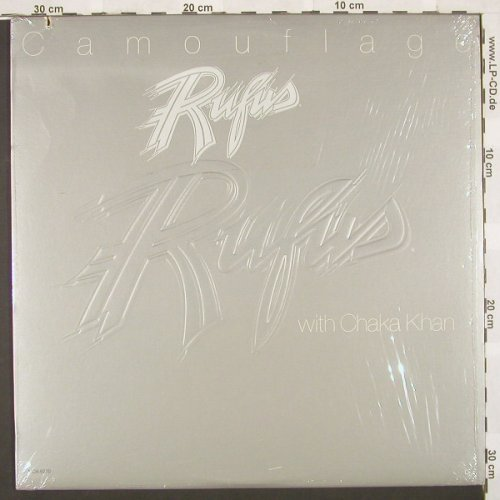 Rufus with Chaka Khan: Camouflage,Co, MCA(MCA-5270), US, 81 - LP - A2613 - 5,50 Euro