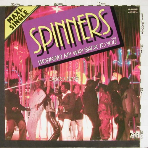 Spinners: Working My Way Back To You+1, Atlantic(20205), D, 79 - 12inch - A3140 - 2,50 Euro