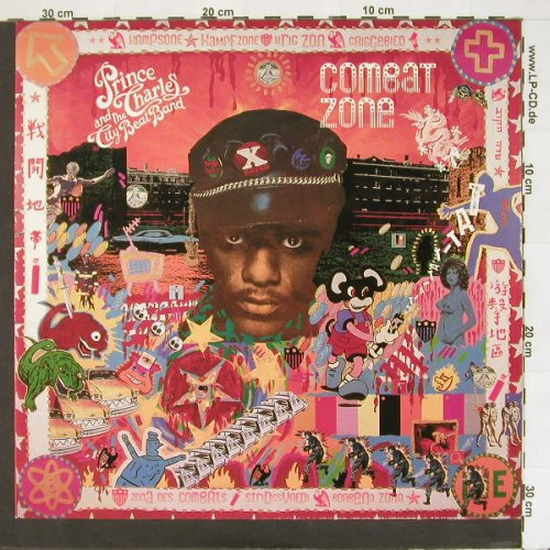 Prince Charles & City Beat: Combat Zone, Virgin(205 838-620), D, 1984 - LP - A3241 - 5,00 Euro