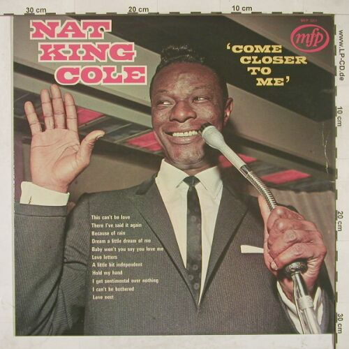Cole,Nat King: Come Closer To Me, MFP(MFP 5201), UK,  - LP - A3483 - 4,00 Euro