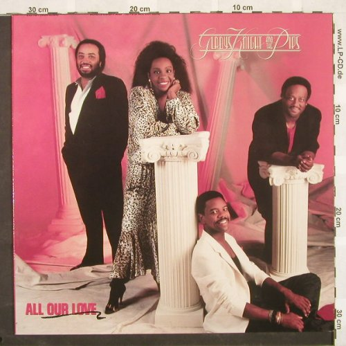 Knight,Gladys & The Pips: All Our Love, MCA(), D, 87 - LP - A3549 - 5,50 Euro