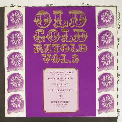 V.A.Old Gold Retold Vol.3: 12 Tr., Bellaph.(BI 15212), D, 78 - LP - A3790 - 4,00 Euro
