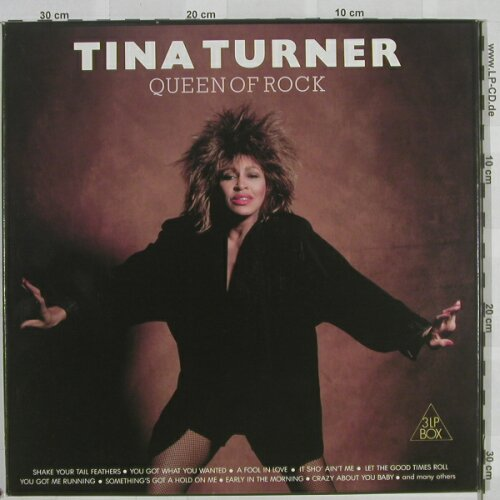 Turner,Tina: Queen of Rock, Box, VG 811-13(), NL,  - 3LP - A435 - 10,00 Euro