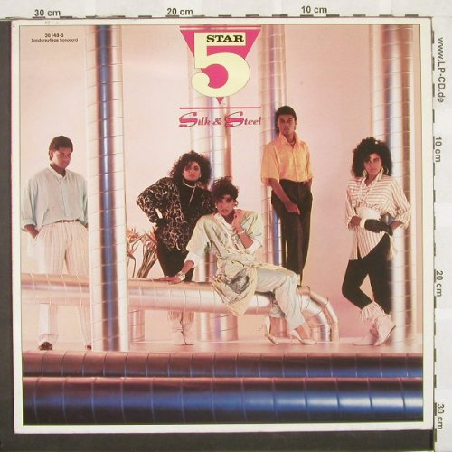 Star 5: Silk And Steel, RCA(36 148-5), D, 86 - LP - A5008 - 5,00 Euro