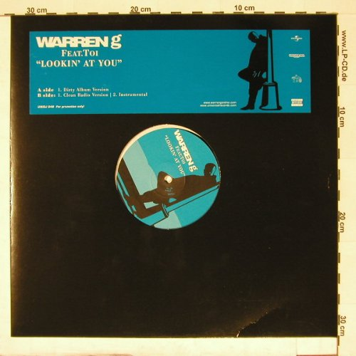 Warren G feat.Toi: Lookin'At You*3,Promo, Universal(UNIDJ 048), EU,  - 12inch - A550 - 3,00 Euro