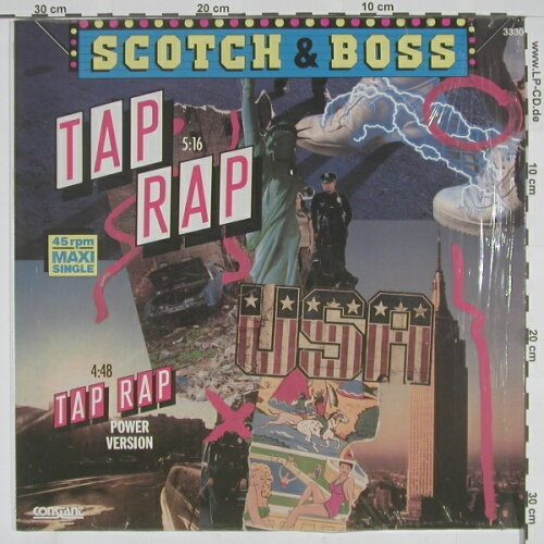 Scotch & Boss: Tap Rap, Constant(3330), D,  - 12inch - A6550 - 5,50 Euro
