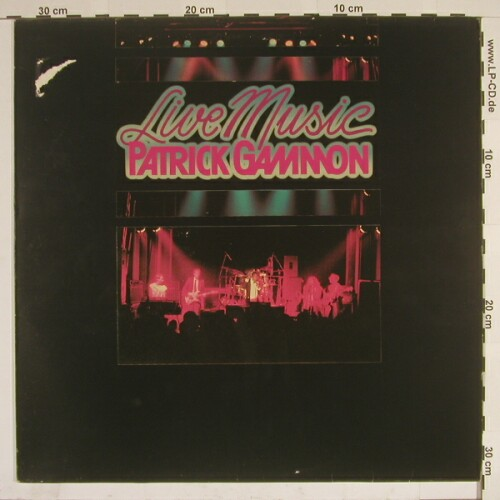 Gammon,Patrick: Live Music, Teldec(6.26080 AS), D M-VG+, 85 - LP - A6791 - 2,50 Euro