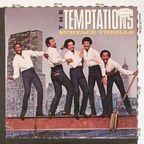 Temptations: Surface Thrills, Co,FS-New, Gordy(6032 GL), US, 83 - LP - A6850 - 7,50 Euro