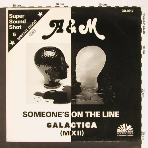 A & M: Someone's On The Line, Night'nDay(30.1017), D,  - 12inch - A6854 - 4,00 Euro
