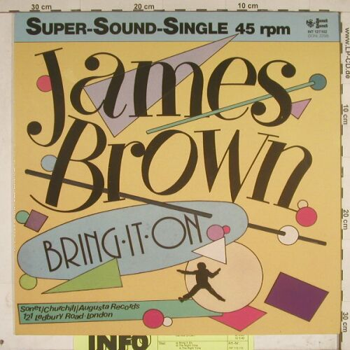 Brown,James: Bring It On+1 ,+Facts, Sonet(int 127.102), D, 83 - 12inch - A7948 - 7,50 Euro