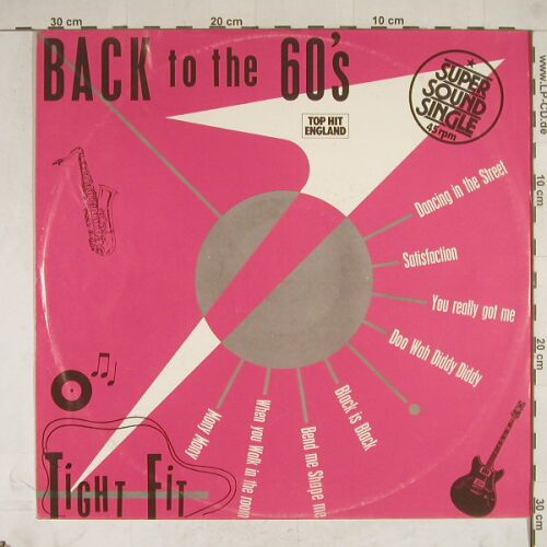 Tight Fit: Back To The 60's +1, Jive(6.20089), D, 1981 - 12inch - A8709 - 2,50 Euro