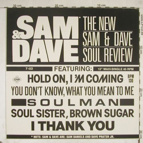 Sam & Dave: Live / Hold On, soul review, CNR(883 342), D, 85 - 12inch - A8723 - 2,50 Euro