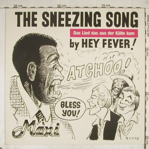 Hey Fever: Sneezing Song *2 woc, IMP(601 660-213), , 85 - 12inch - A8743 - 2,50 Euro