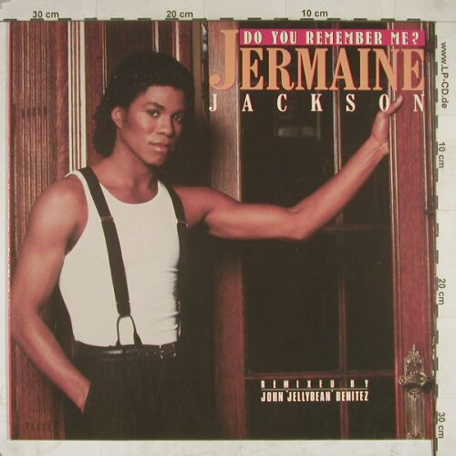 Jackson,Jermaine: Do You Remember Me*3, Arista(608 251), D, 86 - 12inch - A8745 - 2,50 Euro