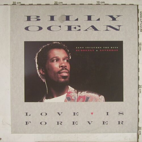 Ocean,Billy: Love Is Forever/Suddenly+1, Jive(), D, 1986 - 12inch - A8812 - 1,50 Euro