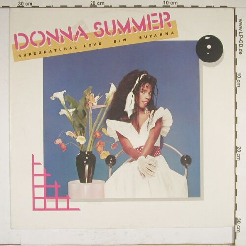Summer,Donna: Supernatural Love+1, WB(259 254-0), D, 84 - 12inch - A8961 - 3,00 Euro