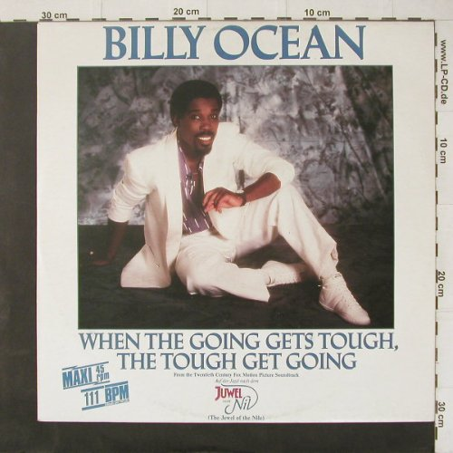 Ocean,Billy: When The Going Gets Tough..*3, Jive(6.20532 AE), D, 1986 - 12inch - B1572 - 2,00 Euro