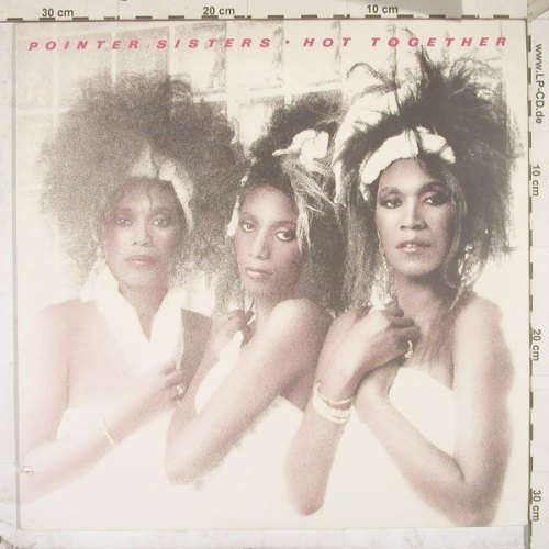 Pointer Sisters: Hot Together,Co, RCA(5609-1-R), US, 86 - LP - B2706 - 4,00 Euro