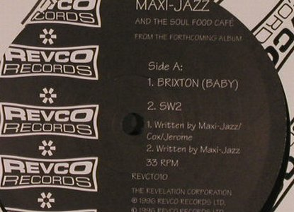 Maxi-Jazz And The Soul Food Cafe: Brixton*2/SW2*2, FLC, Revco(CTO10), UK, 1996 - 12inch - B2917 - 4,00 Euro