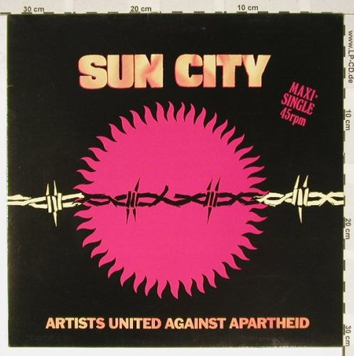 V.A.Sun City: Artists Against Apartheid, Manhattan(20 0927 6), D, 85 - 12inch - B3231 - 3,00 Euro