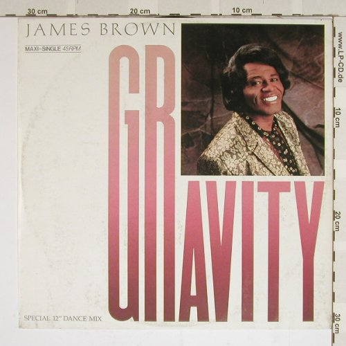 Brown,James: Gravity+2 ext dance mix, m-/vg+, Scotti Br.(INT 127.312), D, 86 - 12inch - B3963 - 2,50 Euro