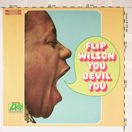 Wilson,Flip: You Devil You, Atlantic(SC 8179), D, 68 - LP - B4167 - 9,00 Euro