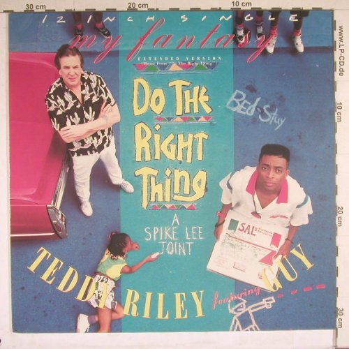 Riley,Teddy feat.Guy: My Fantasy*3, Motown(ZT42946), D, 1989 - 12inch - B4562 - 4,00 Euro