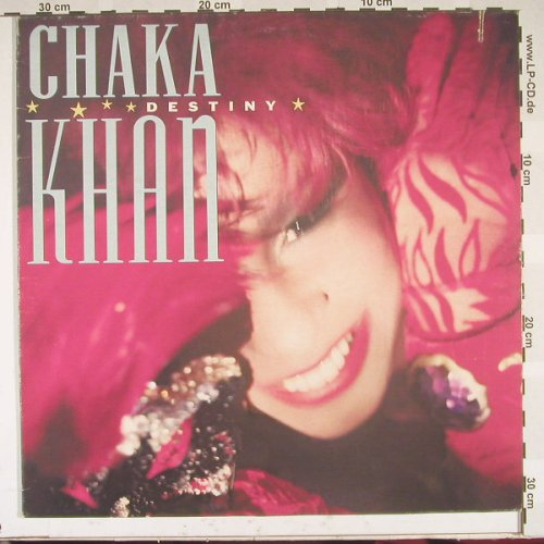 Chaka Khan: Destiny, Co, WB(92 5425-1), I, 86 - LP - B5070 - 4,00 Euro