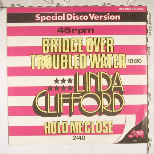 Clifford,Linda: Bridge Over Troubled Water+1, RSO(2141 086), D, 79 - 12inch - B5183 - 3,00 Euro