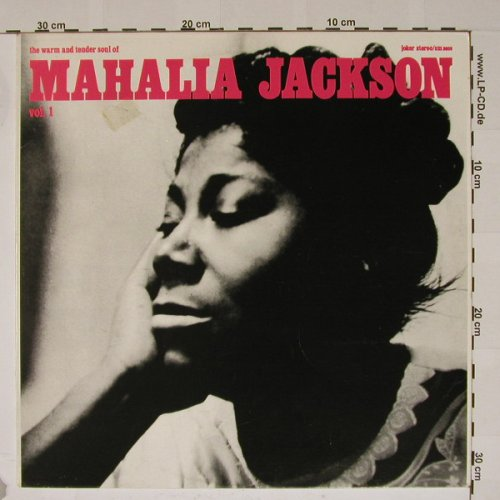 Jackson,Mahalia: The Warm And Tender Soul Of, Vol.1, Joker(SM 3609), I, 1973 - LP - B5372 - 3,00 Euro