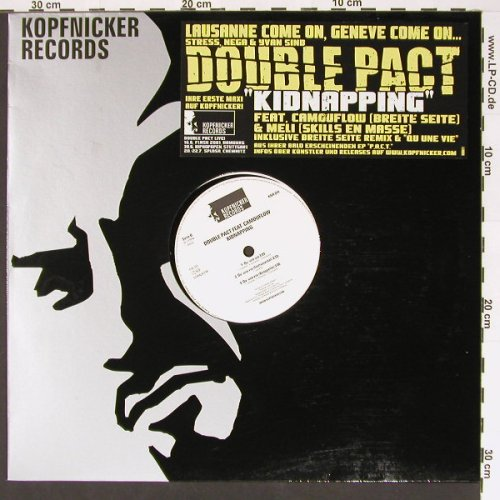 Double Pac: Kidnapping, Kopfnicker(KNR 011), D, 01 - 12inch - B7133 - 4,00 Euro