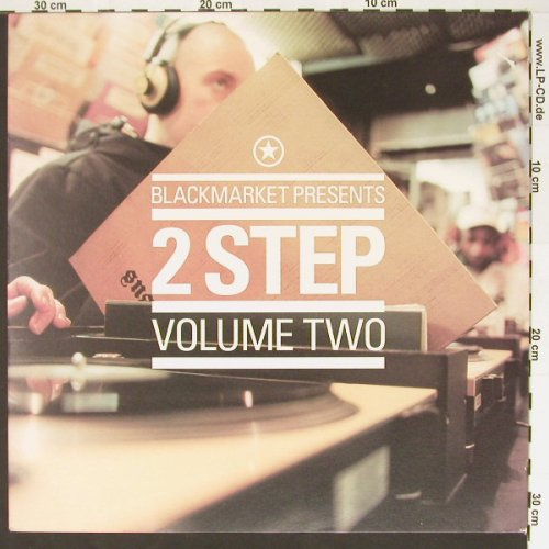 V.A.Blackmarket Presents: 2 Step , Vol.2, Azuli(AZLP06), UK, 00 - 2LP - B7134 - 9,00 Euro