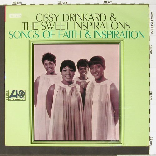 Drinkard,Cissy & Sweet Inspirations: Songs Of Faith & Inspiration, Atlantic(SD 8182), US, 68 - LP - B7378 - 15,00 Euro