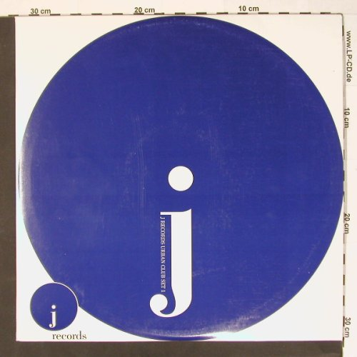 V.A.J-Records Urban Club Set 1: 18 Tr., j Record(25301), EU, 02 - 3LP - B7960 - 14,00 Euro