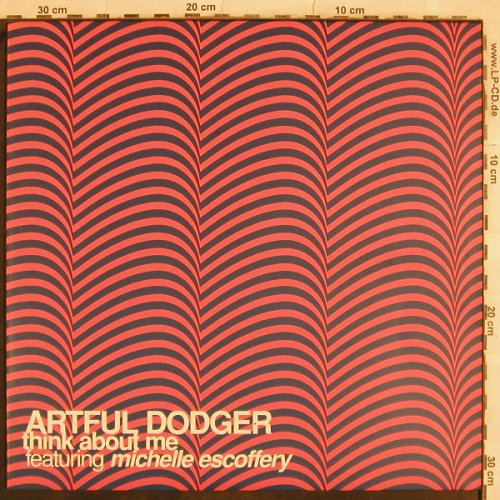 Artful Dodger: Think About Me*3, 3 step mix, ffrr(), , 2001 - 12inch - B8051 - 4,00 Euro
