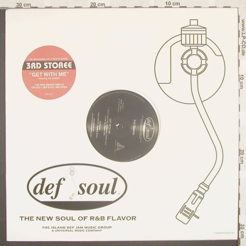 3rd Storee: Get With Me*4,Flc,Promo, DefSoul(DEFR 15591-1), US, 02 - 12inch - B8745 - 2,50 Euro