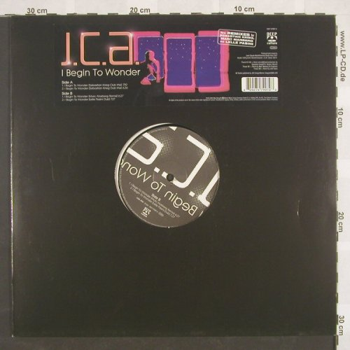 J.C.A.: I Begin To Wonder*4, DeepCultur(), D, 02 - 12inch - B8779 - 4,00 Euro