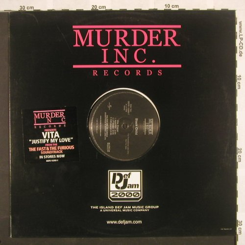 Vita / Black Child: Justify My Love*3 / The Prayer*3, MurderInc.(DEFR 15293-1), US, 01 - 12inch - B8941 - 4,00 Euro