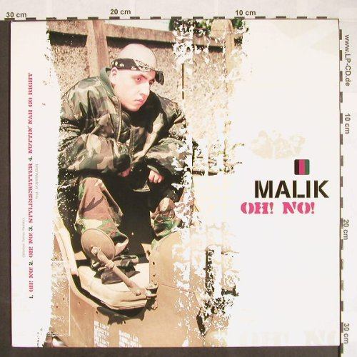 Malik: Oh!No!*5+3, Sound Release(), D, 2001 - 12inch - B8962 - 2,00 Euro