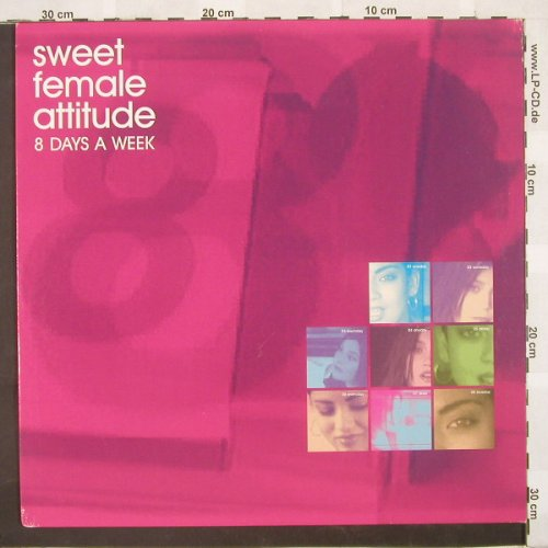 Sweet Female Attitude: 8 Days A Week*4, Milkk(), D, 00 - 12inch - B9128 - 3,00 Euro