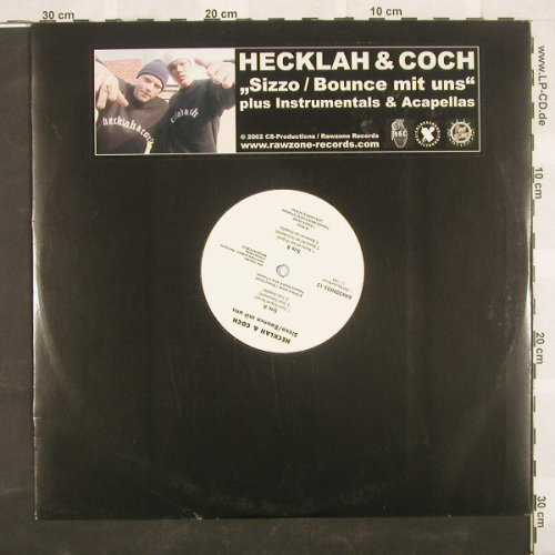 Hecklah & Coch: Sizzo*3+3,LC, Rawzone(05-12), D, 02 - 12inch - B9148 - 4,00 Euro