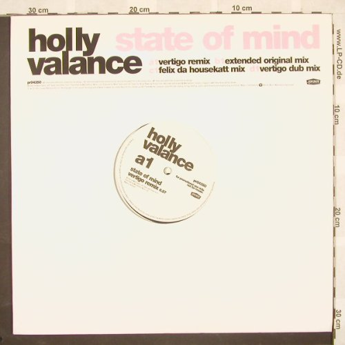 "Valance,Holly: State Of Mind*4,LC,Promo, London(pr04350), UK, 03 - 2*12"" - B9456 - 4,00 Euro"