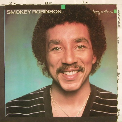 Robinson,Smokey: Being With You, Motown(542004), F, 81 - LP - B9703 - 6,00 Euro