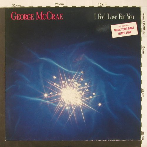 Mc Crae,George: I Feel Love For You, Ariola(208 726), D, 1987 - LP - C1875 - 4,00 Euro