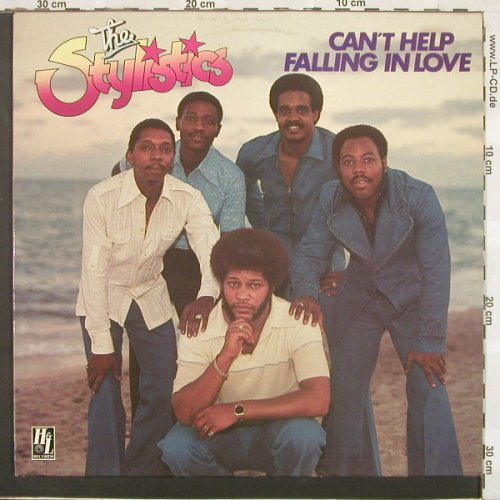Stylistics: Can't Help Falling In Love, H+L(6.23959), D, 76 - LP - C1975 - 7,50 Euro