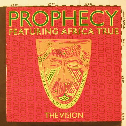 Prophecy f. Africa True: The Vision*3+1, m-/vg+, DancePool(658403 6), D, 92 - 12inch - C2157 - 2,50 Euro