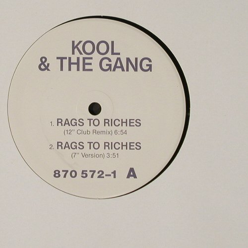 Kool & The Gang: Rags To Riches*4,Anpressung, LC, (), ,  - 12inch - C2223 - 1,50 Euro