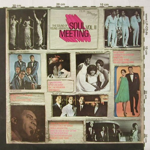 V.A.Soul Meeting: Vol.2, Wonder,Temptations,.., Tamla(STM 1002), D, 1967 - LP - C2472 - 6,00 Euro