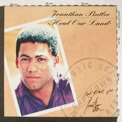 Butler,Jonathan: Heal Our Land, Jive(ZL 74670), D, 90 - LP - C2533 - 4,00 Euro