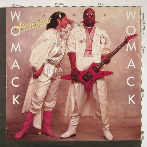 Womack & Womack: Starbright, Manhattan(24 0656 1), NL, 1986 - LP - C2539 - 4,00 Euro